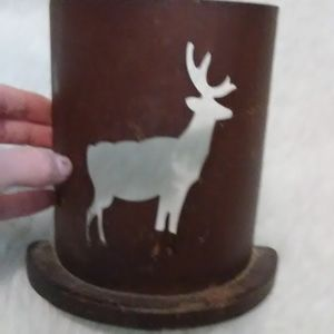 Deer Candle Holder country Decor